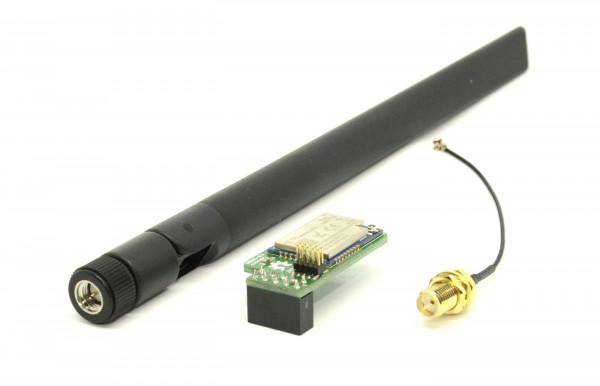 ZigBee CC2530+CC2592 Long Range Funkmodul Bundle 20cm/5dBi